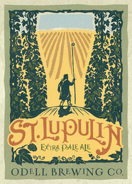 mark for ST. LUPULIN EXTRA PALE ALE ODELL BREWING CO., trademark #85807713