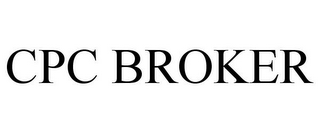 mark for CPC BROKER, trademark #85807959
