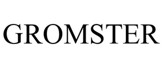 mark for GROMSTER, trademark #85808663
