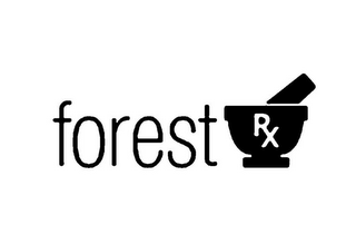 mark for FOREST RX, trademark #85808803