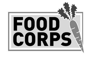 mark for FOOD CORPS, trademark #85809023