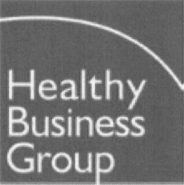 mark for HEALTHY BUSINESS GROUP, trademark #85809227