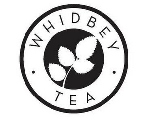 mark for WHIDBEY TEA, trademark #85810324