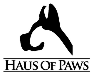 mark for HAUS OF PAWS, trademark #85810731
