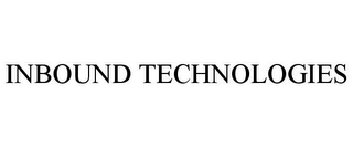 mark for INBOUND TECHNOLOGIES, trademark #85810878
