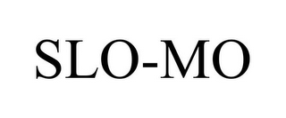 mark for SLO-MO, trademark #85811113