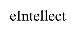 mark for EINTELLECT, trademark #85811489