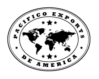 mark for PACIFICO EXPORTS DE AMERICA, trademark #85811716