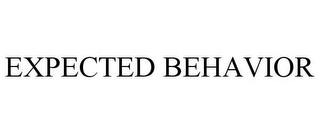mark for EXPECTED BEHAVIOR, trademark #85811746