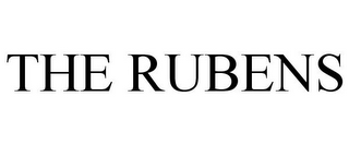 mark for THE RUBENS, trademark #85811765