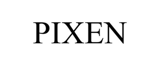 mark for PIXEN, trademark #85811863