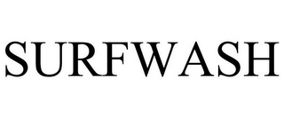 mark for SURFWASH, trademark #85811908
