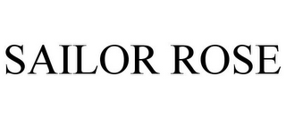 mark for SAILOR ROSE, trademark #85812634
