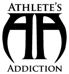 mark for ATHLETE'S ADDICTION AA, trademark #85813194