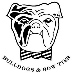mark for BULLDOGS & BOW TIES, trademark #85813292