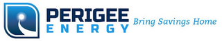 mark for PERIGEE ENERGY BRING SAVINGS HOME, trademark #85813567