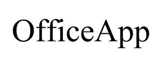 mark for OFFICEAPP, trademark #85813607