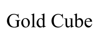 mark for GOLD CUBE, trademark #85814376