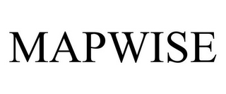 mark for MAPWISE, trademark #85814609