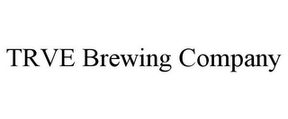mark for TRVE BREWING COMPANY, trademark #85814786