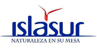 mark for ISLASUR NATURALEZA EN SU MESA, trademark #85814954