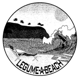 mark for LEGUME-A-BEACH, trademark #85815082
