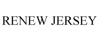 mark for RENEW JERSEY, trademark #85815745
