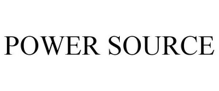 mark for POWER SOURCE, trademark #85816063