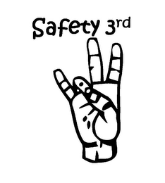 mark for SAFETY 3RD, trademark #85816097