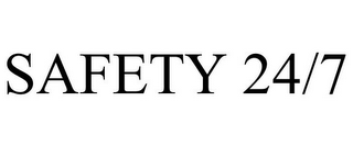 mark for SAFETY 24/7, trademark #85816259