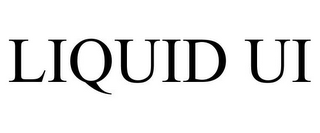 mark for LIQUID UI, trademark #85816562