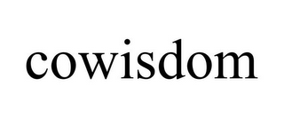 mark for COWISDOM, trademark #85816590
