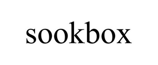 mark for SOOKBOX, trademark #85816688