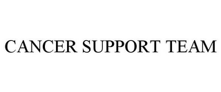 mark for CANCER SUPPORT TEAM, trademark #85816835