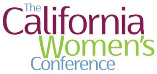 mark for THE CALIFORNIA WOMEN'S CONFERENCE, trademark #85817376