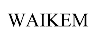 mark for WAIKEM, trademark #85817703