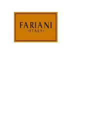 mark for FARIANI -ITALY-, trademark #85817915