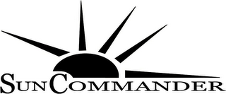 mark for SUN COMMANDER, trademark #85818158