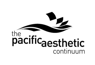 mark for THE PACIFIC AESTHETIC CONTINUUM, trademark #85818333