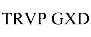 mark for TRVP GXD, trademark #85818546