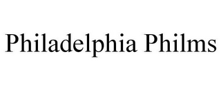 mark for PHILADELPHIA PHILMS, trademark #85818812