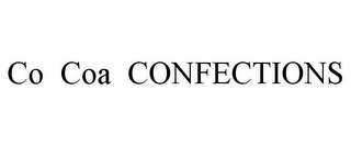 mark for CO COA CONFECTIONS, trademark #85819018