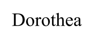 mark for DOROTHEA, trademark #85819116
