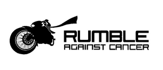 mark for RUMBLE AGAINST CANCER, trademark #85819205