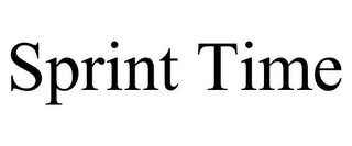 mark for SPRINT TIME, trademark #85819312