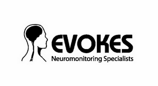 mark for EVOKES NEUROMONITORING SPECIALISTS, trademark #85819464