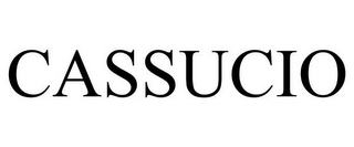 mark for CASSUCIO, trademark #85819472