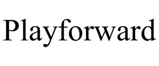 mark for PLAYFORWARD, trademark #85819585