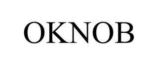 mark for OKNOB, trademark #85819588
