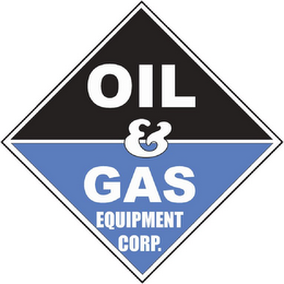 mark for OIL & GAS EQUIPMENT CORP., trademark #85819726